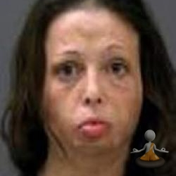 Burn victim arrested on meth charges - Heather Raybon
